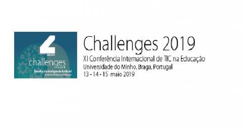 Challenges 2019: Desafios da Inteligência Artificial, XI Conferência Internacional de TIC na Educação