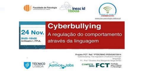 Logotipo do seminario sobre Cyberbullying