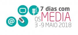 logotipo 7 dias com os media