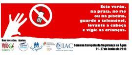 Campanha Semana Europeia da Segurança na Água 2019