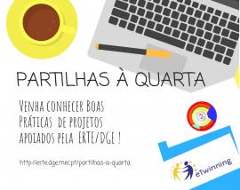 Partilhas à Quarta (2019/2020) - Cartaz - Versão 2